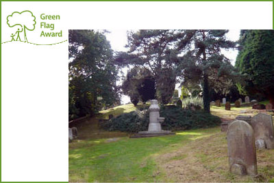 Woodbury Park Cemetery receives Green Flag Award